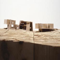 Location model, elevation view.