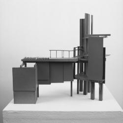 "Study model, House/Filter. 1/4"" =1'0"""