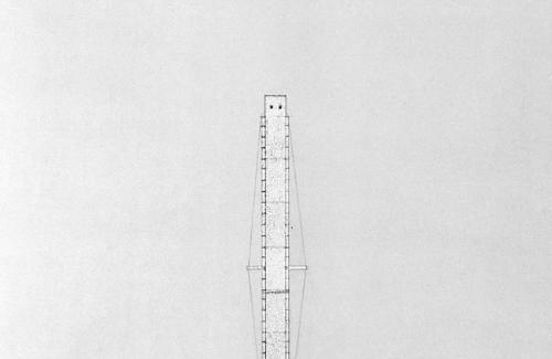 Bridge Tower elevation and plan.