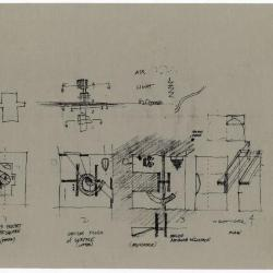 Plan and section sketches