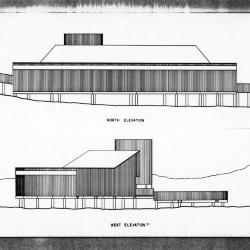 North and west elevations.