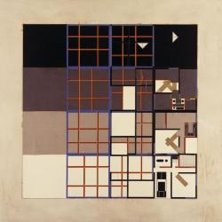 Plan describing the layering process via use of collage.