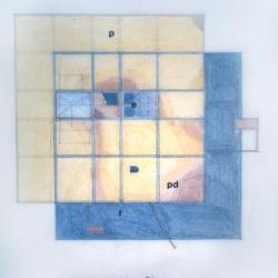 Topographic plan of deck unit.