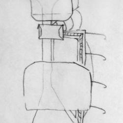 Early project development sketch.