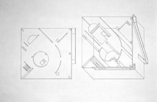 Plan and Axonometric.
