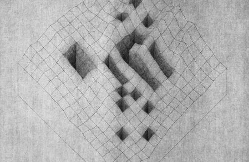 Topographic drawing.