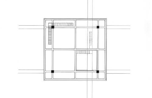 First floor plan.