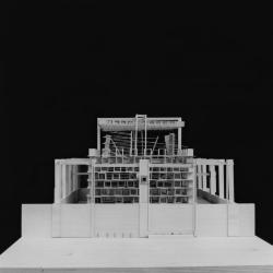 Model, Soundspace, Pavilion for the Urban Hermit.