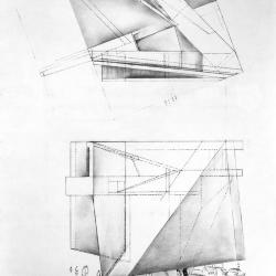 Plan and section.