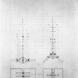 Plan, the corner detail.