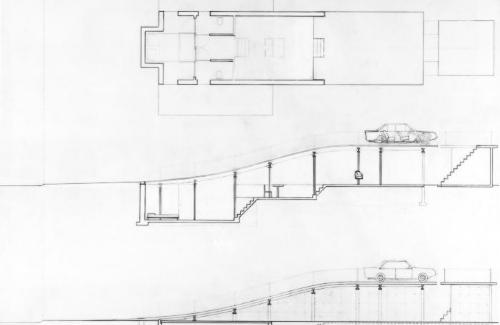 Plan and section details.