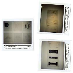 Installation polaroids