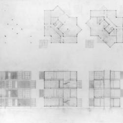 Plans, sections, and elevations.