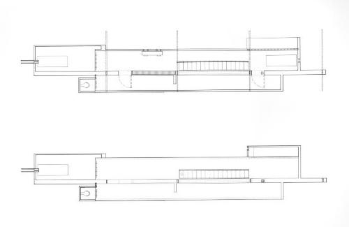 Plans, first and second floors.