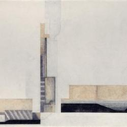 High Tide House, plan, section, elevation.