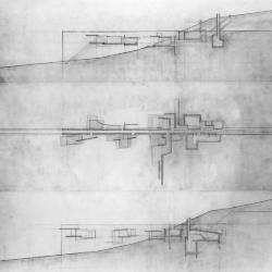 Plan and sections.