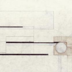 Plan, low tide house.