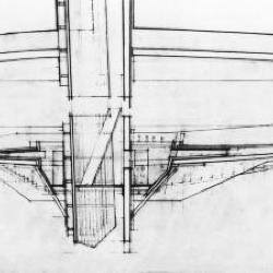 Vertical section, detail.