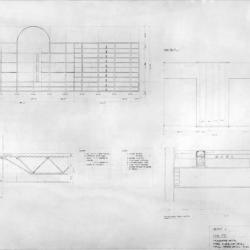 Sections, details and plans.