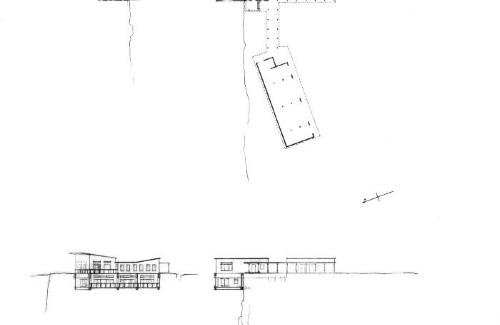Plans, section, elevation.