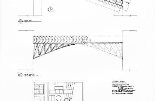 Plans and elevation.