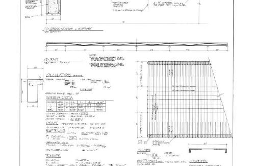 Beam analysis and sections.