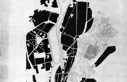 """The medieval city,  two mosques and """"</a><div class='slideCaption'><a href='/Detail/objects/851'>Analysis: Cairo and Design: Places of Craft</a></div></div> </div><!-- end col --><div class='col-xs-12 col-sm-6 col-md-4'> <div class='slide'><a href='/Detail/objects/859'><img src="""