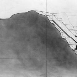 Section at AA, see plan overview.