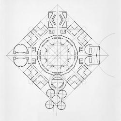 Geometric base plan.