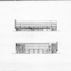 East and west elevations.