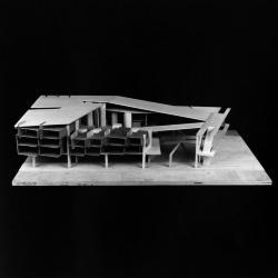 Residential / commercial single block study model.