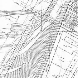 Site plan, from Sanborne Map.