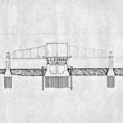 School Bridge: section.