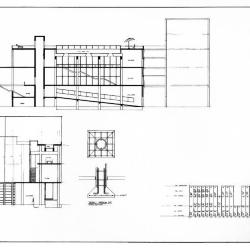 Detail, section and calculations.