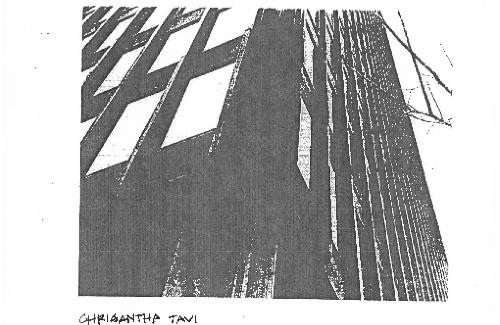 Structural calculations and details, Chrisantha Tavi, ARCH152 , Structures IV 1989-90.