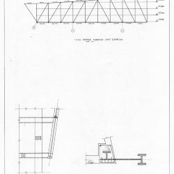 Elevation, detail and section.