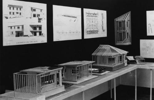 Model and drawings.