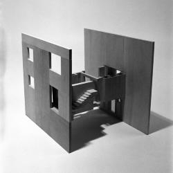 Robbe-Grillet House, model.