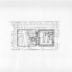 Plan, site of  Tlatelolco, Plaza de las Tres Culturas.