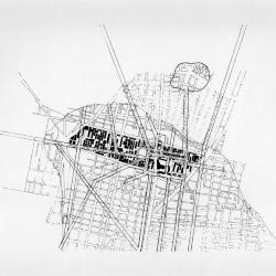 Plan, site of intervention, Tlatelolco.