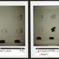Installation polaroid.