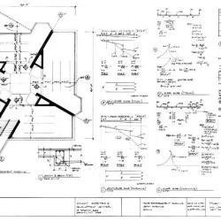 Slab reinforcement schedule, beam schedule and details.