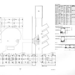 First floor plans, beam details/schedule.