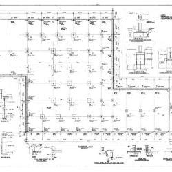 Foundation plan details.