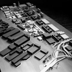 Student model, Greenwich Village Housing Plan.