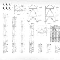 Wind truss details.