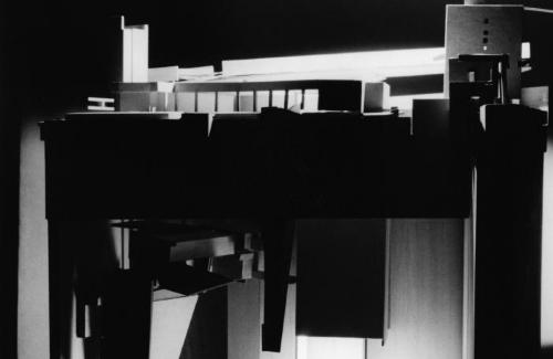 Model, section view.