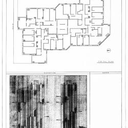 Plan and elevation.