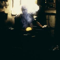 Glassblower photograph.