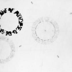 The three circles.